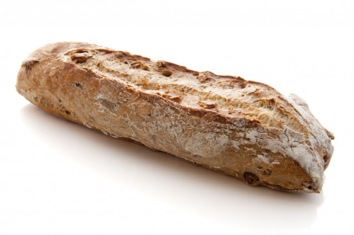 Baguette de pain aux noix
