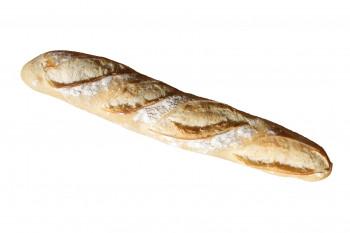 Baguette de pain fariné